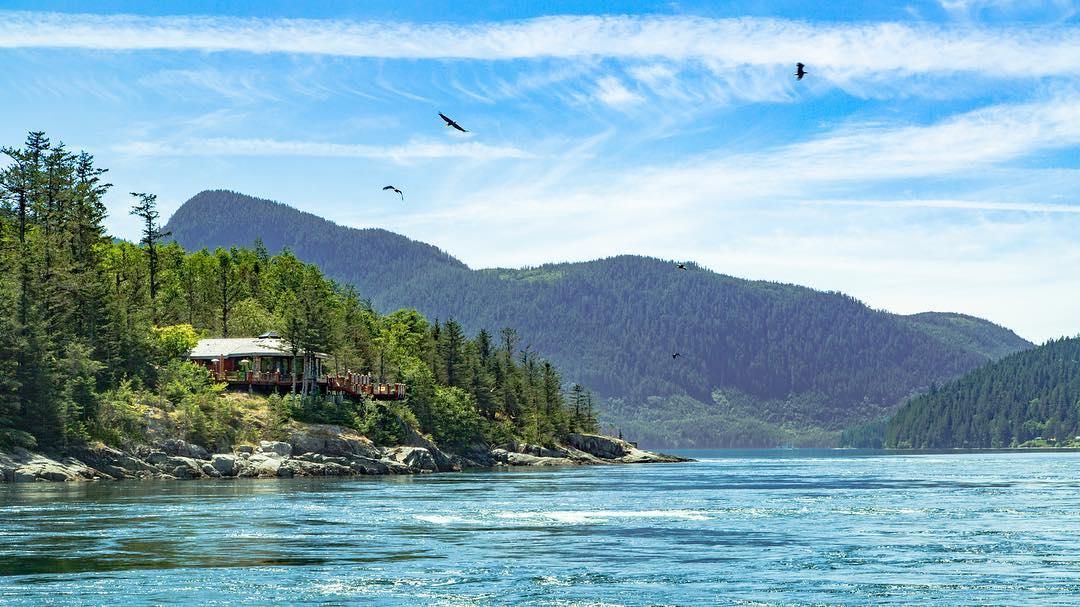 Sunshine Coast BC Canada